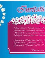 08 martie: Invitatie la serbarea dedicata mamelor